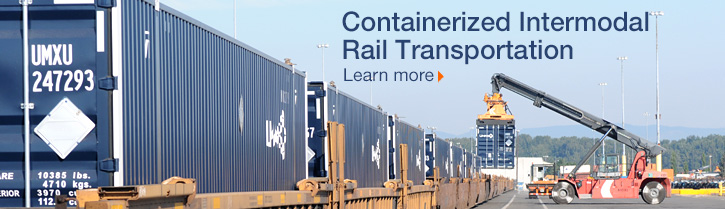 Intermodal Rail Learn More