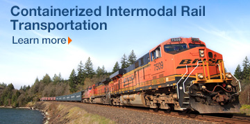 Containerized Intermodal Rail Transportation