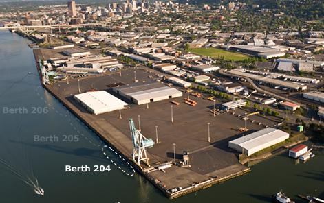Berth 204 Location