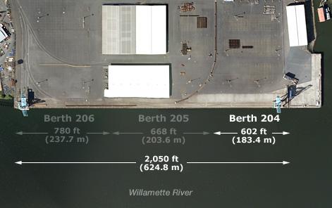 Berth 204 Length