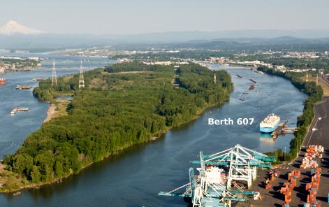 Berth 607 Location