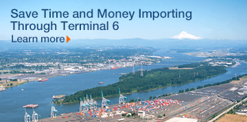 Save Time and Money Importing Through Terminal 6. Learn more.