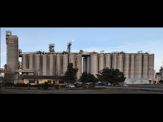 The silos at Columbia Grain hold grain from 11 states waiting to be exported to international markets.