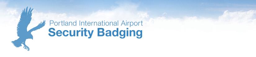 Airport Security Badging