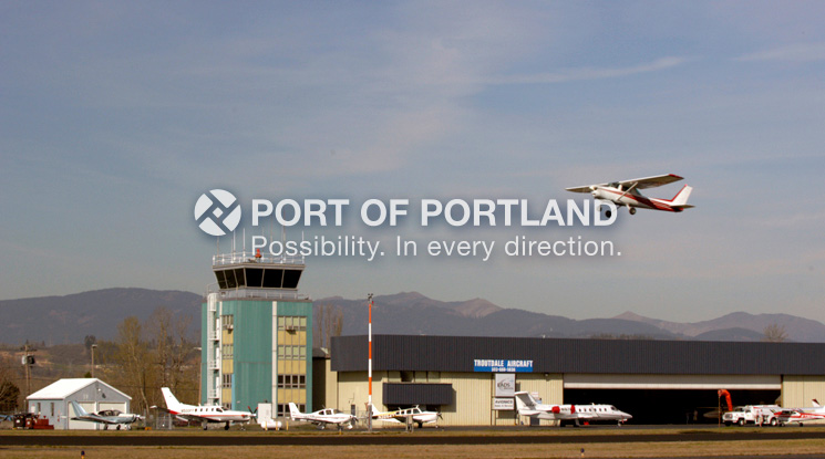 Troutdale Airport is also a popular airport for scenic aerial tours of the Columbia River Gorge and recreational flying. Troutdale has one runway, an FAA contract air traffic control tower and 15 businesses operating on-airport.