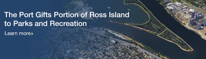 Port of Portland gifts portion of Ross Island to Portland Parks and Recreation