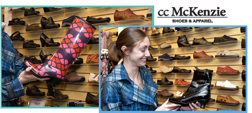 cc McKenzie Shoes & Apparel