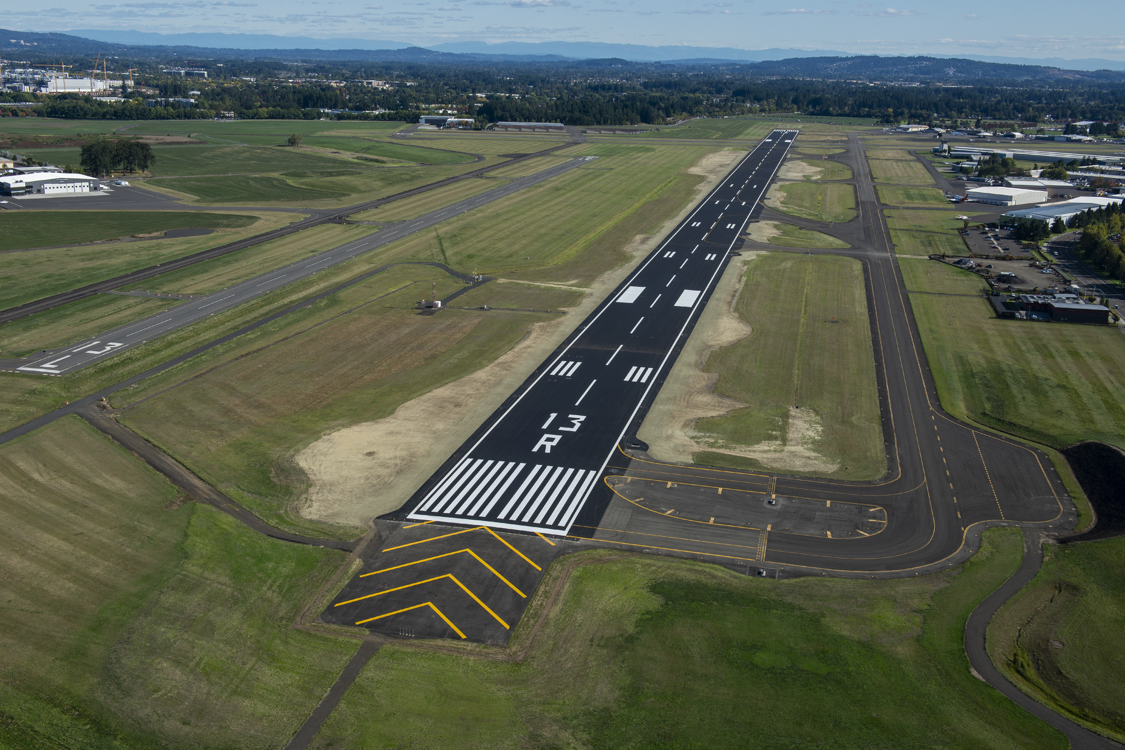Main runway reopens at Hillsboro Airport after summer reconstruction concludes