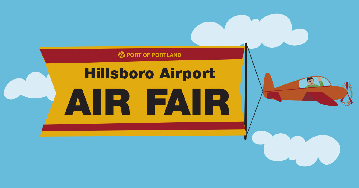 Register Now for the Hillsboro Airport Air Fair