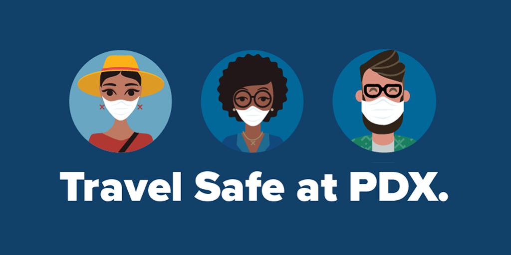 2020 Holiday Travel Focuses on Health Safety at PDX