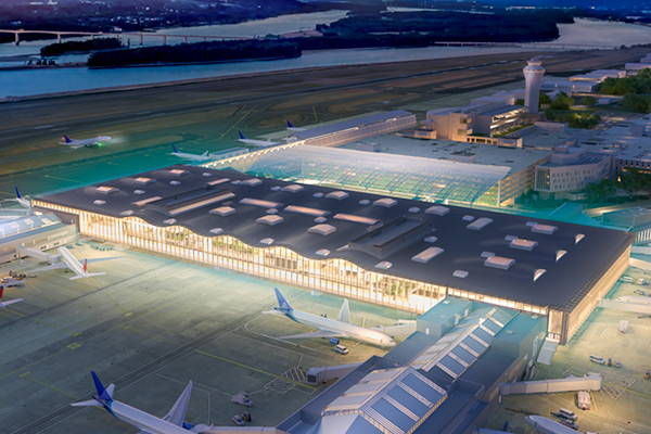 Main terminal design revealed