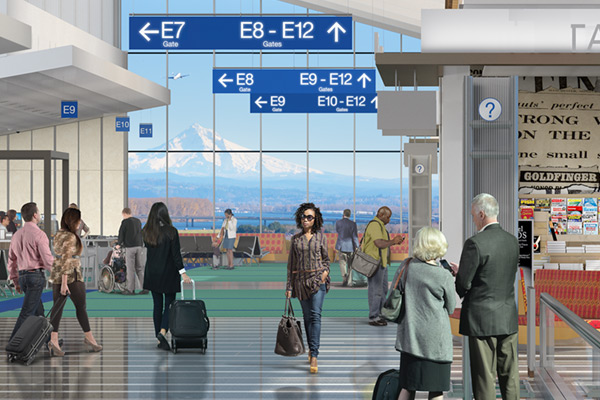 Concourse E expands its local character