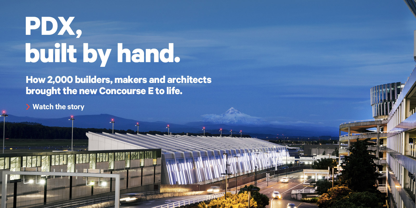 PDX, built by hand.