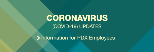Coronavirus updates for PDX Employees