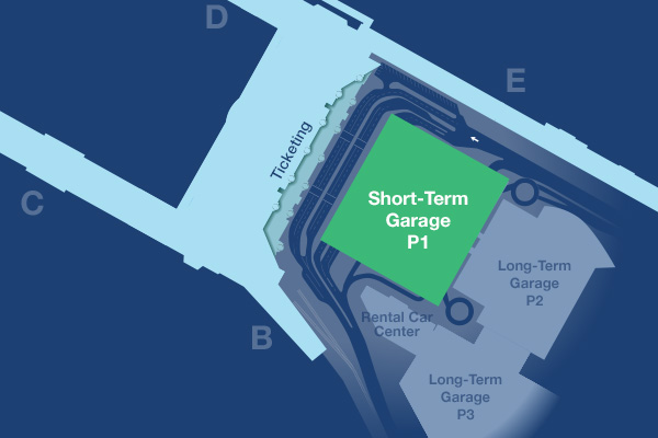 Short-term parking map