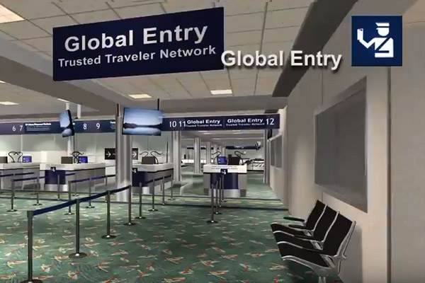 Play Video - Passport Control, Baggage Claim, Customs Tour