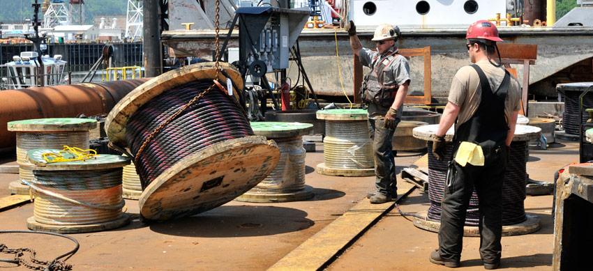 dredge crew image gallery