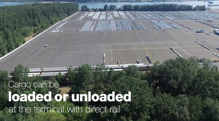 Intermodal Yard Video
