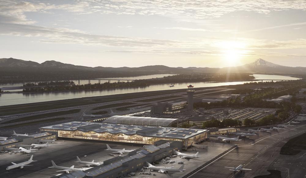 New main terminal design